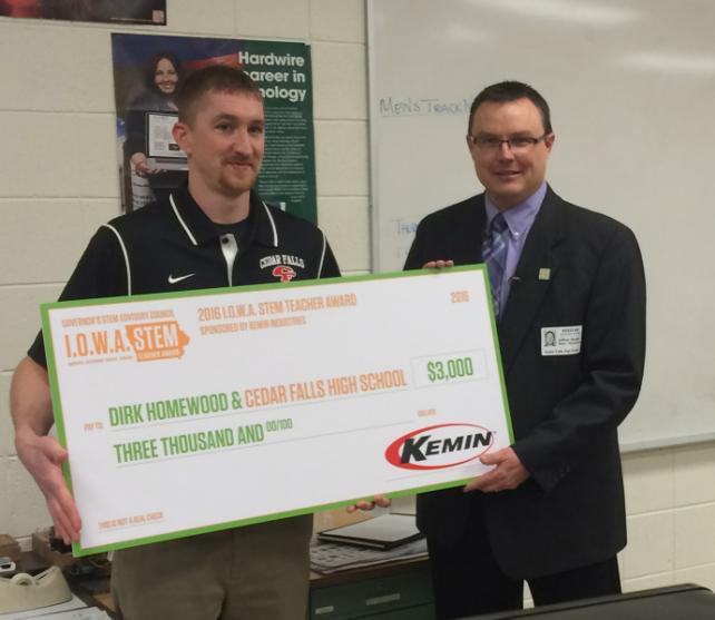Homewood - 2015-16 STEM Teacher Award