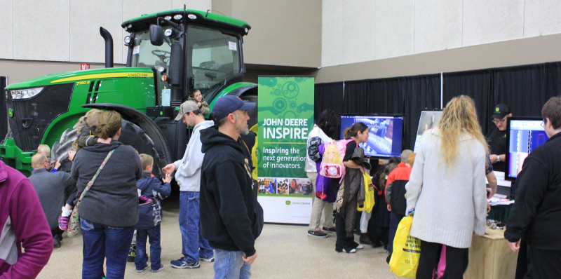 photo of John Deere Exhibit
